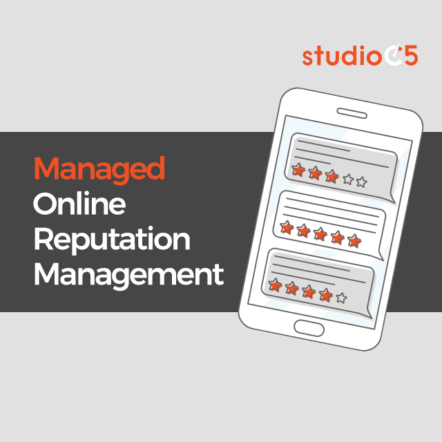 Managed - Online Reputation Manager by Studio C5