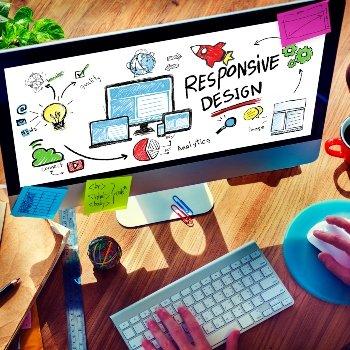 Responsive Design Internet Concept